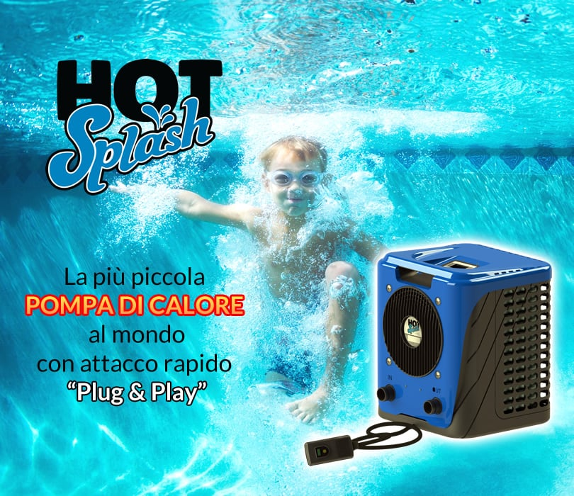 Pompa di calore Heat Hot Splash: la più piccola pompa di calore al mondo Plug & Play!